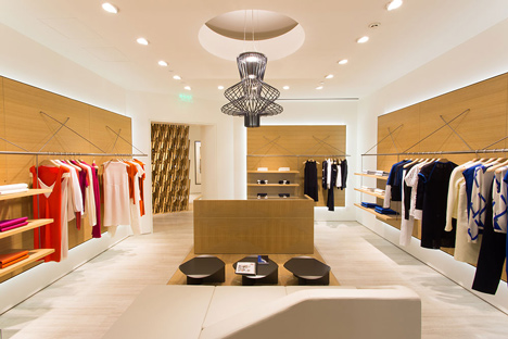 Pringle of Scotland store in Chengdu by Atelier Oi