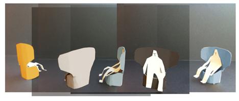 Radar chairs by Claesson Koivisto Rune