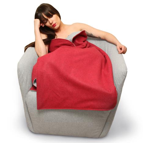 Red Riding Hood chair Hanna Emelie Ernsting Milan
