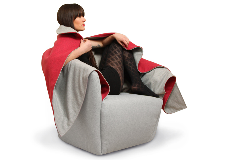 Red Riding Hood chair Hanna Emelie Ernsting Milan