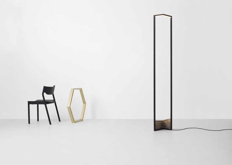 Resident Foundry Floor Lamp by Nat Cheshire