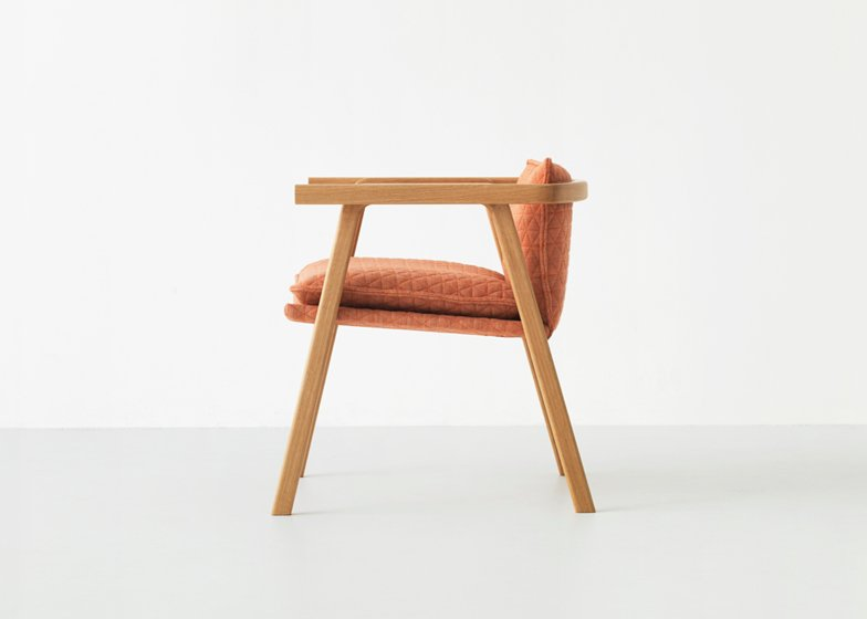 Resident Pick Up Sticks chair by Simon James
