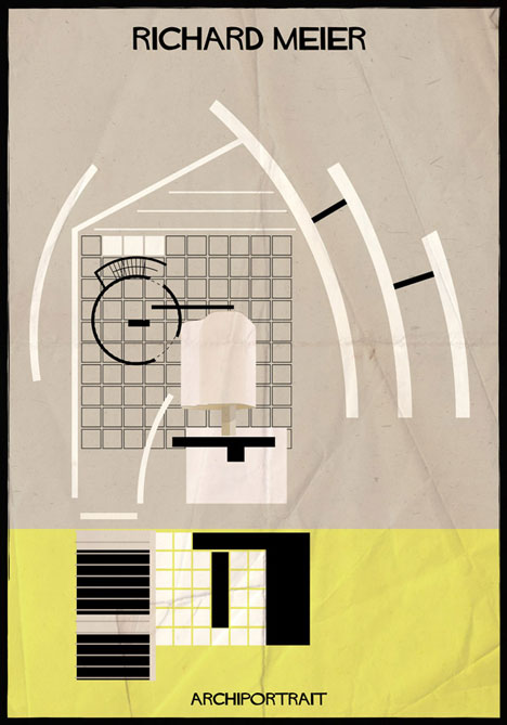 Richard Meier Archiportrait by Federico Babina