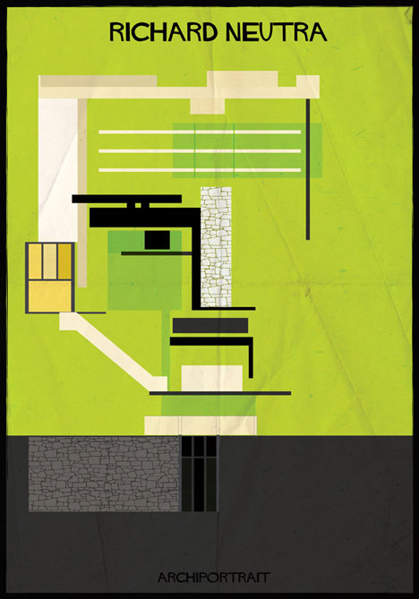 Richard Neutra Archiportrait by Federico Babina