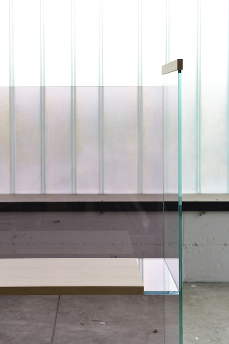Ronan and Erwan Bouroullec_Diapositive for Glas Italia_dezeen_5