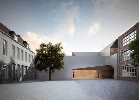 Aires Mateus To Design Architecture School In Tournai Belgium