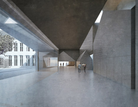 School of Architecture, Tournai by Aires Mateus