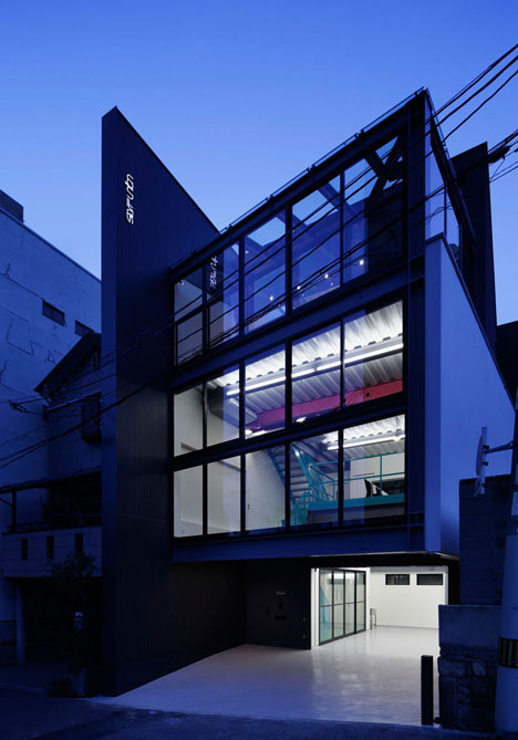 Set design studio and office in Japan by Mattch