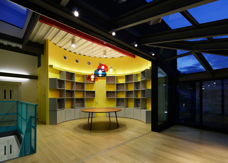 Set Design Studio In Japan By Mattch Plays With Theatrical Imagery