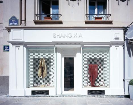 Shang Xia store in Paris by Kengo Kuma and Associates