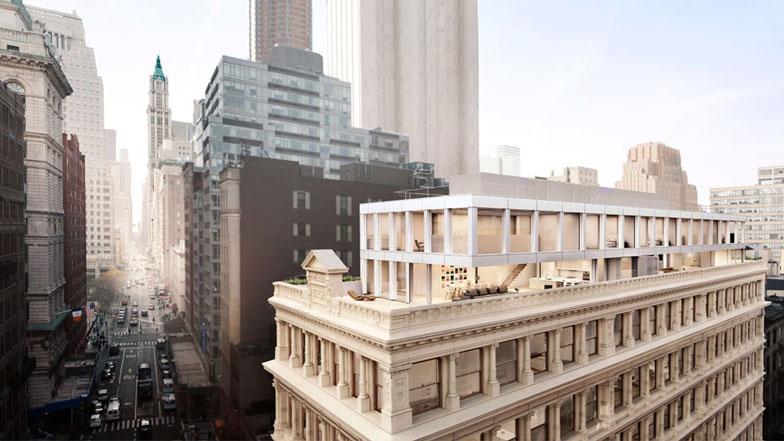 Shigeru Ban redesigns interiors for iron-clad New York apartment block