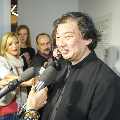 "Architectural culture is ""moving in two directions"" says Shigeru Ban"