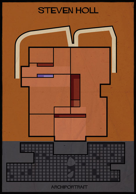 Steven Holl Archiportrait by Federico Babina