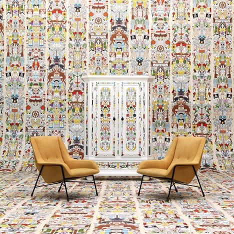 Studio Job raids its own archive to create wallpaper patterns
