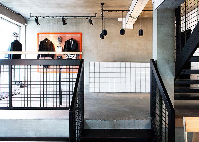 Suit Store in Reykjavik by HAF Studio