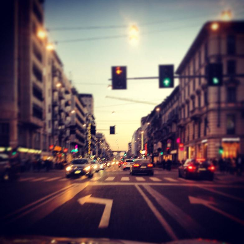 Milan evening