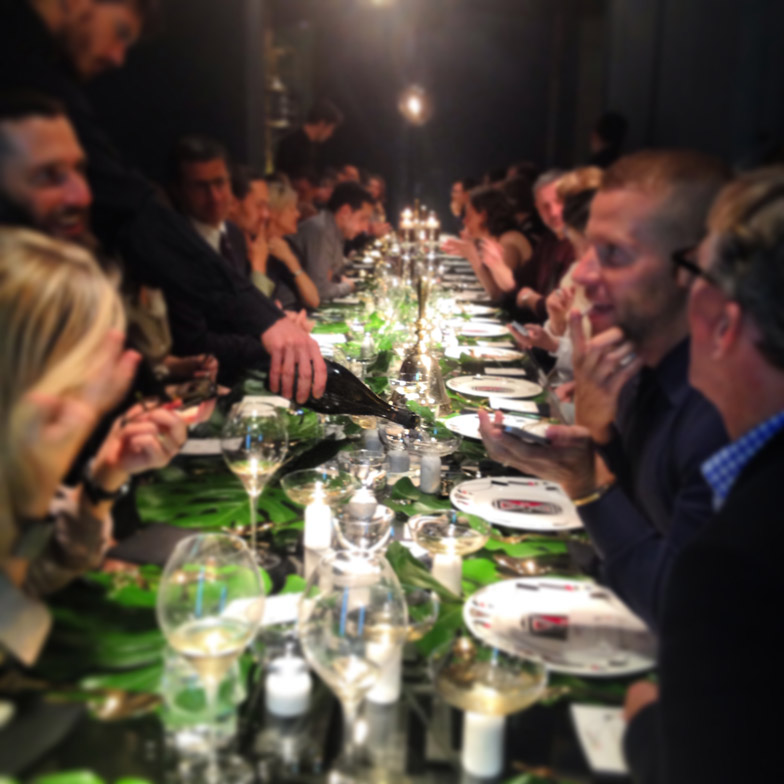 Supperscene dinner at Spazio Pontaccio
