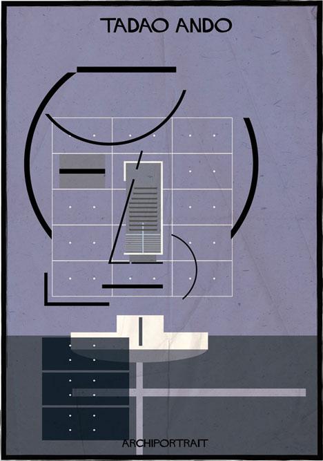 Tadao Ando Archiportrait by Federico Babina