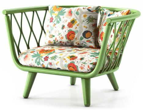 Taffeta-Chair-Green-by-Alvin-Tjitrowirjo-for-Moooi