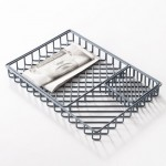 Stacking trays by Frederik Roijé form overlapping grid patterns