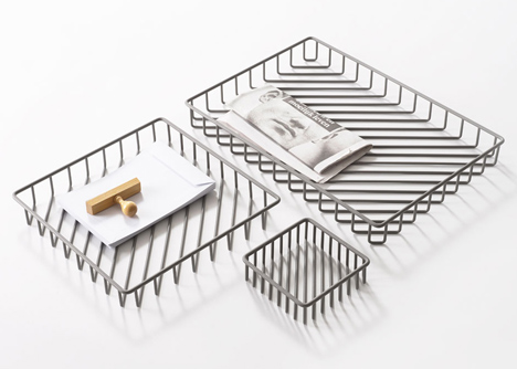 Texture Trays by Frederik Roije