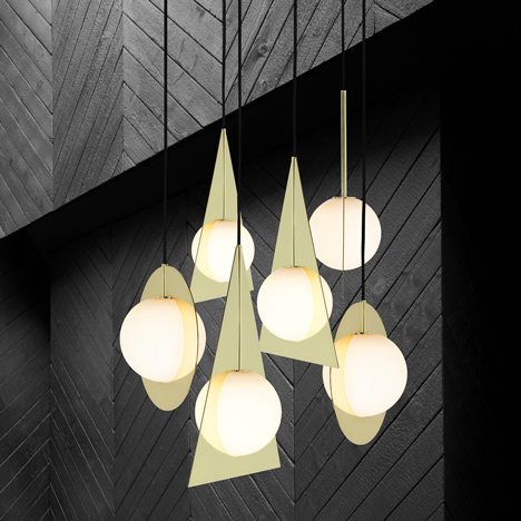 Plane light collection by Tom Dixon