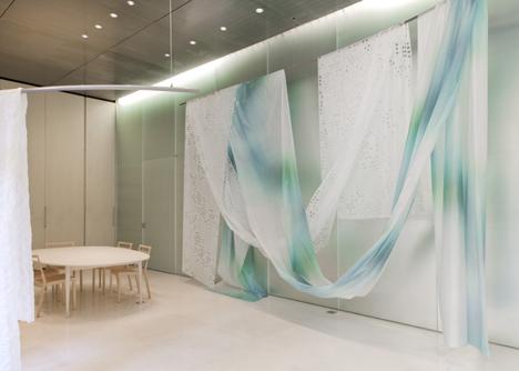 Kinnasand Milan showroom by Toyo Ito