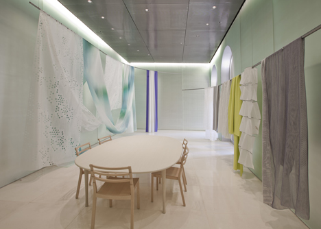 Milan Showroom by Toyo Ito