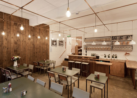 Trade Cafe by TwistInArchitecture