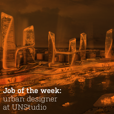 Job of the week: urban designer at UNStudio