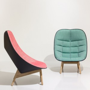 Doshi Levien Bases Uchiwa Armchair For Hay On A Japanese Fan