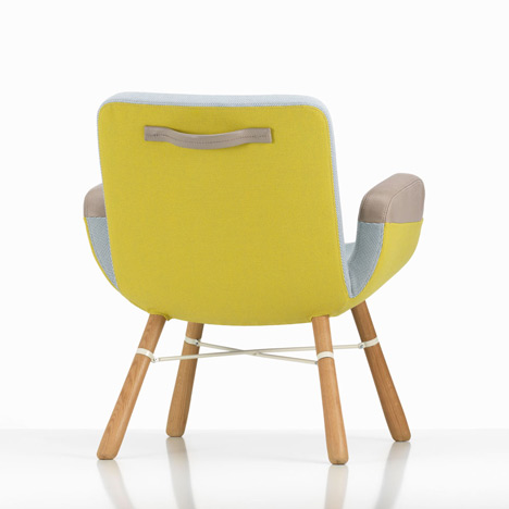 Vitra launch new Hella Jongerius lounge chair in Milan