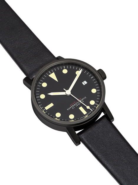 Watches from Hong Kong brand VOID launch at Dezeen Watch Store