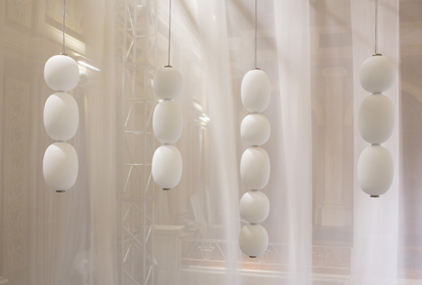 Wonderglass lighting collection at Milan 2014