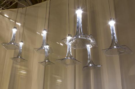Wonderglass lighting collection at Milan 2014
