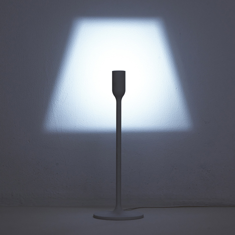"YOY brings ""humour to an ordinary room"" with light that projects its shade"