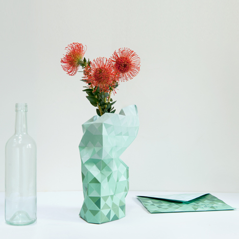 Paper Vase by Pepe Haykoop