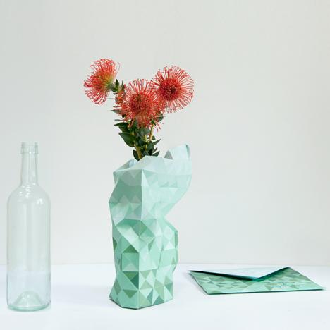 Paper Vase by Pepe Haykoop