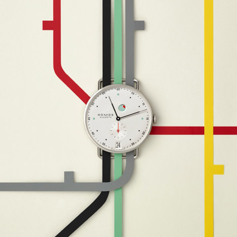 "Mark Braun celebrates ""craft of making"" with watch for Nomos Glashütte"