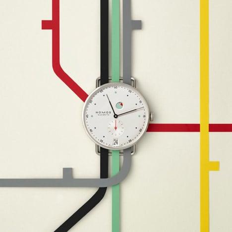 "Mark Braun celebrates ""craft of making"" with Metro watch for Nomos Glashütte"