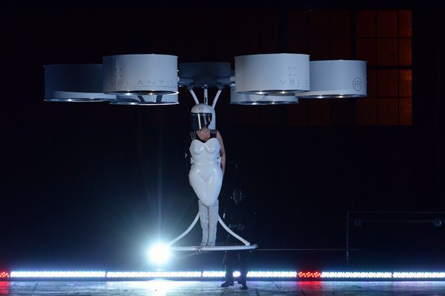 Studio XO and Lady Gaga, Volantis, world's first flying dress