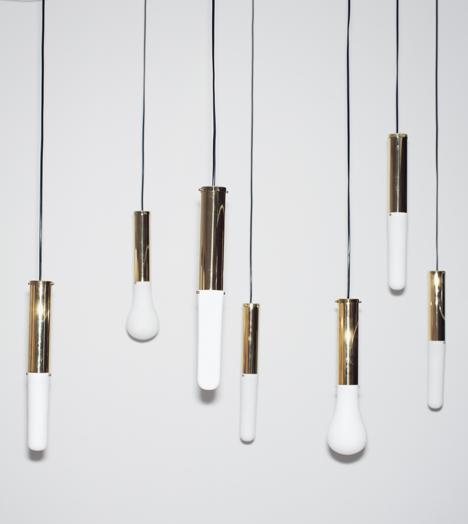 3D Printed lights by Hanieh Heidarabadi