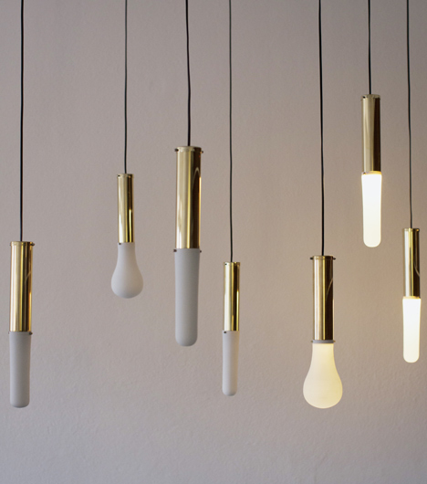 3D Printed lights by Hanieh Heidarabadi