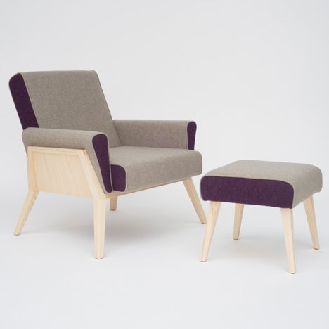 Aesh and Tweed collection by Georg Oehler fuses British and Austrian design