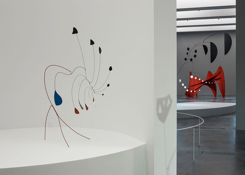 Alexander Calder exhibition at LACMA by Frank Gehry