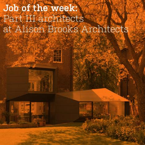 Part III architects at Alison Brooks Architects