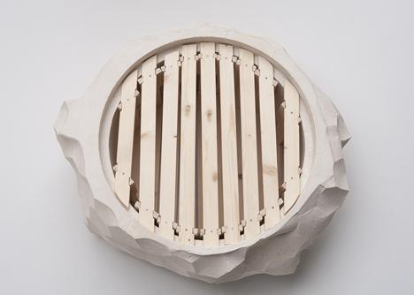 Apiarium beehive by Bettina Madita Bohm