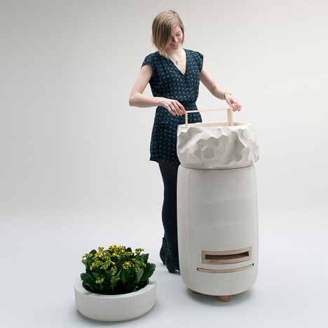 Bettina Madita Böhm creates Apiarium hive for urban beekeepers
