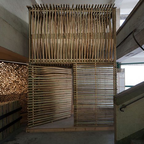 Bamboo micro homes by Affect-T