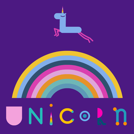 Unicorn chases its horn in Tomek Ducki's animation for Basement Jaxx